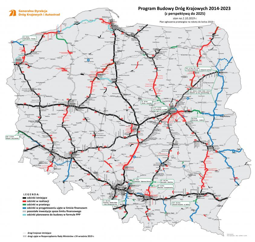 Do końca roku przetargi na blisko 250 km dróg