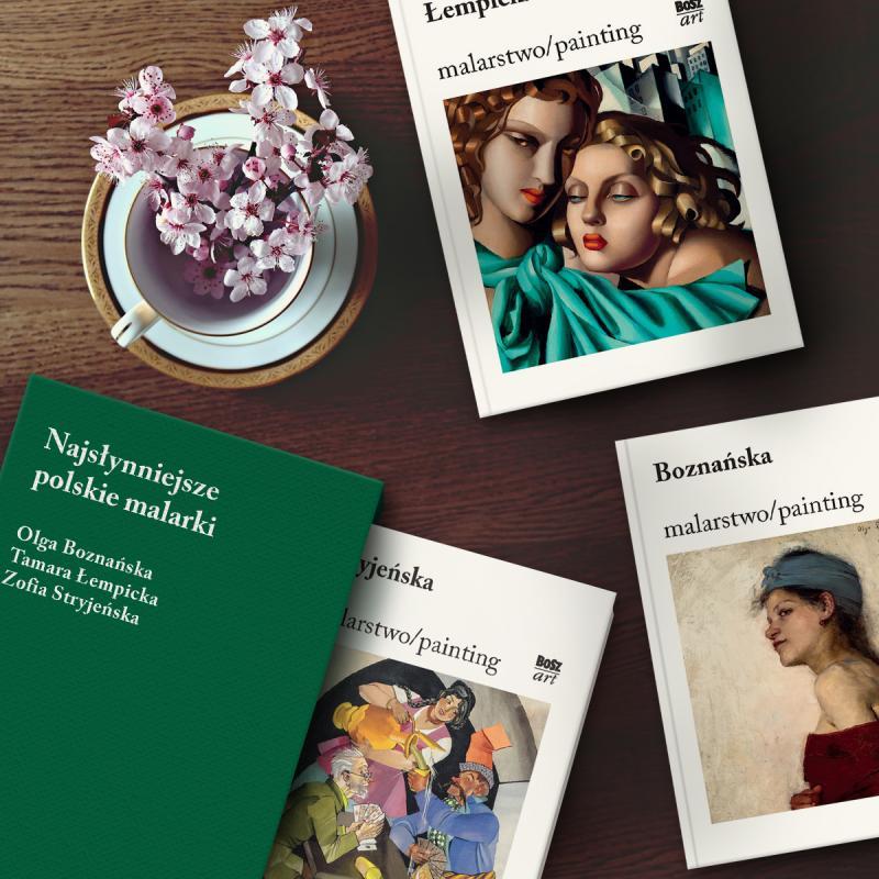 Trzy największe polskie malarki razem weleganckim etui - must have miłośników sztuki już wsprzedaży