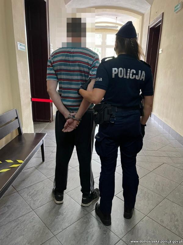 Sprawca rozboju zatrzymany